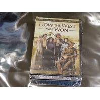 HOW THE WEST WAS WON THE COMPLETE SECONDS SEASON DVD NEW