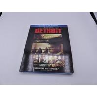 DETROIT BLU-RAY + DVD W/ SLIPCOVER NEW