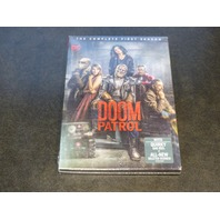 DOOM PATROL THE COMPLETE FIRST SEASON DVD NEW SEALED