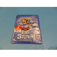 LILO & STITCH 2-MOVIE COLLECTION BLU-RAY + DIGITAL NEW SEALED W/ OUT SLIP