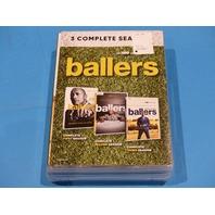 BALLERS 3 COMPLETE SEASONS SEASONS 1, 2 & 3 DVD NEW