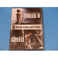 CREED 1 & 2 - 2-FILM COLLECTION - DVD NEW