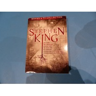 STEPHEN KING MOVIES AND TV COLLECTION DVD NEW