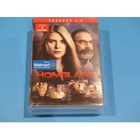 HOMELAND SEASONS 1-4 DVD NEW