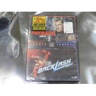 PAYBACK, BACKLASH 2017 DVD NEW