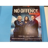 NO OFFENCE SERIES 3 DVD WITH JACKET NEW
