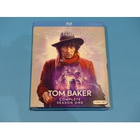 DOCTOR WHO TOM BAKER COMPLETE FIRST SEASON (SEASON 1) BLU-RAY NEW