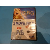 UNIVERSAL PICTURES HOME ILLUMINATION PRESENTS: 2-MOVIE PACK (SING/THE SECRET LIF