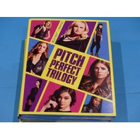 PITCH PERFECT TRILOGY BLU-RAY + DIGITAL WITH JACKET NEW
