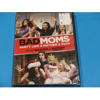 BAD MOMS PARTY LIKE A MOTHER 2-PACK BADMOMS & A BADMOMS CHRISTMAS DVD NEW