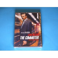 THE COMMUTER DVD NEW W/ LIAM NEESON