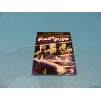 FAST FIVE - 4K ULTRA HD + BLU-RAY + DIGITAL NEW