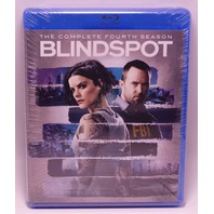 BLINDSPOT THE COMPLETE FOURTH SEASON BLU-RAY NEW SEALED