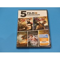 5 FILM COLLECTION SWORDS AND SANDALS DVD NEW