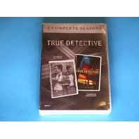 TRUE DETECTIVE THE FIRST AND SECOND SEASON DVD (SEASONS 1 & 2) NEW
