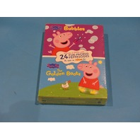 BUBBLES PEPPA PIG THE GOLDEN BOOTS DVD NEW