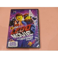 THE LEGO MOVIE 2 THE SECOND PART DVD NEW SEALED