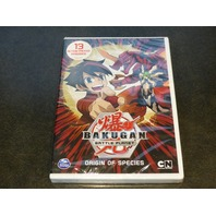 BAKUGAN BATTLE PLANET ORIGIN OF SPECIES DVD NEW SEALED