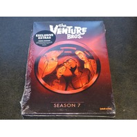 VENTURE BROS THE COMPLETE SEVENTH SEASON DVD NEW SEALED