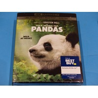 PANDAS 4K ULTRA HD + BLU-RAY + DIGITAL WITH JACKET NEW