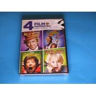4 FILM FAVORITES FAMILY CLASSICS DVD NEW