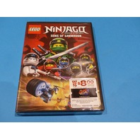 LEGO NINJAGO MASTERS OF SPINJITZU SONS OF GARMADON DVD NEW