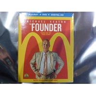 THE FOUNDER BLU-RAY + DVD + DIGITAL HD NEW