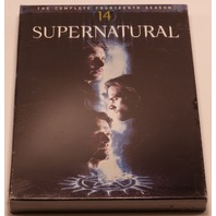 SUPERNATURAL THE COMPLETE FOURTEENTH SEASON DVD  NEW SEALED