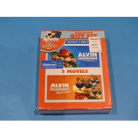 ALVIN AND THE CHIPMUNKS EXCLUSIVE GIFT SET BLU-RAY + DVD NEW