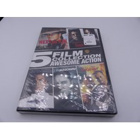 5 FILM COLLECTION AWESOME ACTION DVD NEW