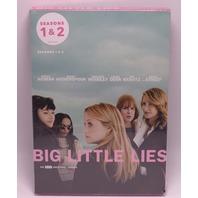 BIG LITTLE LIES SEASONS ONE-TWO (SEASONS 1-2) DVD NEW SEALED