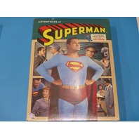 ADVENTURES OF SUPERMAN THE COMPLETE FIFTH AND SIXTH SEASONS IN COLOR WITH JACKET