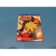 BORUTO NARUTO NEXT GENERATIONS SET 2 BLU-RAY NEW