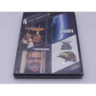 4 FILM FAVORITES STANLEY KUBRICK FILMS DVD NEW