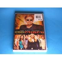 CSI MIAMI THE FINAL SEASON DVD NEW