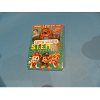 NICKELODEON LETS LEARN STEM 1 & 2 DVD NEW