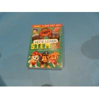 LETS LEARN STEM 1&2 DVD NEW