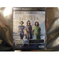 HIDDEN FIGURES 4K ULTRA HD+BLU-RAY+DIGITAL HD NEW