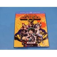 MY HERO ACADEMIA BLU-RAY + DVD NEW