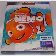 FINDING NEMO  BLU-RAY + DVD NEW SEALED