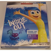 INSIDE OUT BLU-RAY + DVD NEW SEALED