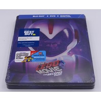 THE LEGO MOVIE 2 THE SECOND PART STEELBOOK BLU-RAY + DVD NEW SEAL