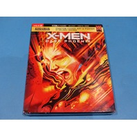 X-MEN DARK PHOENIX 4K ULTRA HD + BLU-RAY + DIGITAL NEW SEALED