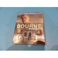 THE BOURNE CLASSIFIED COLLECTION DIGITAL HD + BLU-RAY NEW