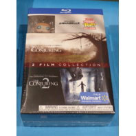 THE CONJURING 2 FILM COLLECTION W/FUNKO ANABELLE KEYCHAIN BLU-RAY