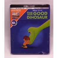 THE GOOD DINOSAUR LIMITED EDITION STEELBOOK DIGITAL COPY + 4K ULTRA HD + BLU-RAY