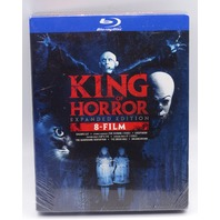 KING OF HORROR EXPANDED EDITION BLU-RAY NEW SEALED