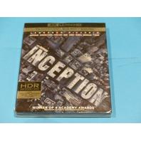 INCEPTION 4K ULTRA HD + BLU-RAY + DIGITAL NEW