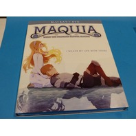 MAQUIA WHEN THE PROMISED FLOWER BLOOMS BLU-RAY + DVD WITH JACKET NEW
