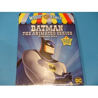 BATMAN THE ANIMATED SERIES VOLUME ONE 1 WARNER BROS. FAMILY DVD W/ JACKET NEW